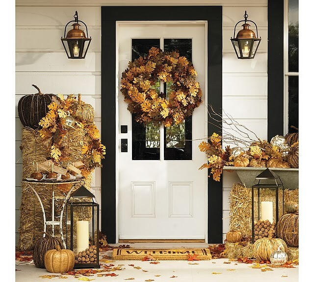 The Vast Possibilities of Simple Decor | Fall Porch Decoration Ideas | Porch decor on a budget