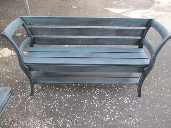 Outdoor DIY Bench Ideas: Creative and Innovative Dual Chair Bench