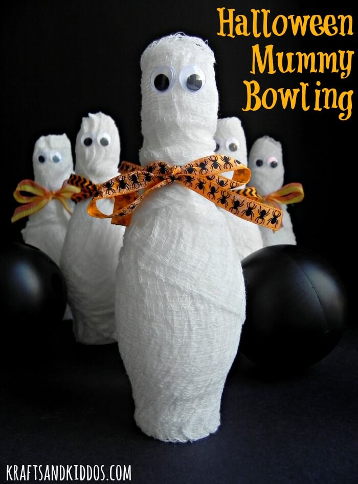 Mummy Ball | Awesome DIY Halloween Party Decor | BHG Halloween