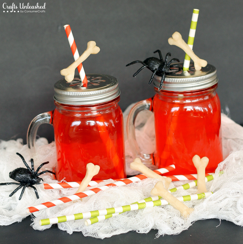 Goblin Juice to Go | Awesome DIY Halloween Party Decor | BHG Halloween