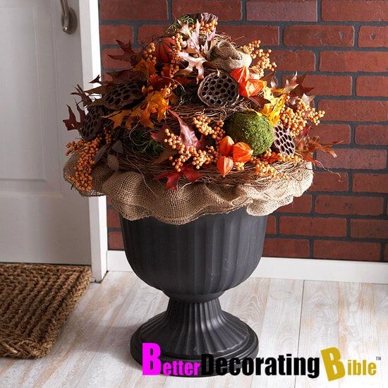 A Combination of Everything Fall | Fall Porch Decoration Ideas | Porch decor on a budget