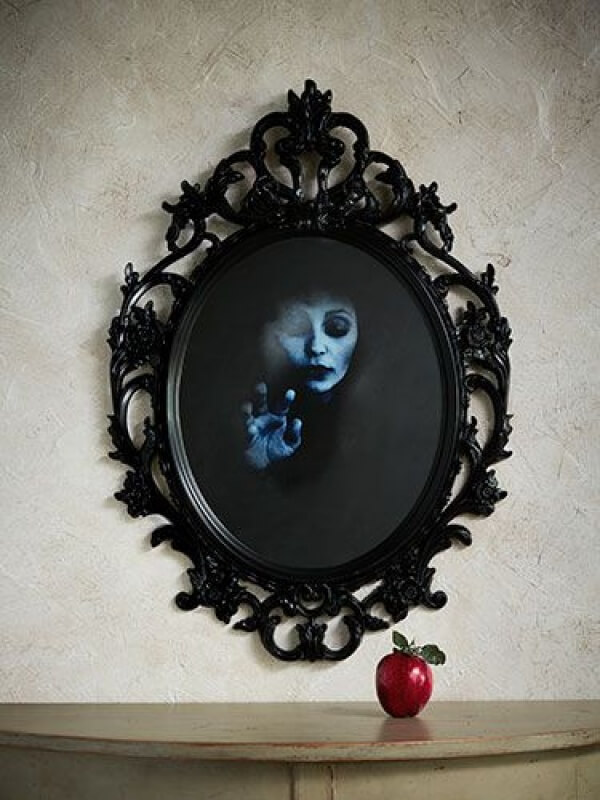 Mirage and Mirrors Create Ghoulish Decoration | DIY Indoor Halloween Decorating Ideas