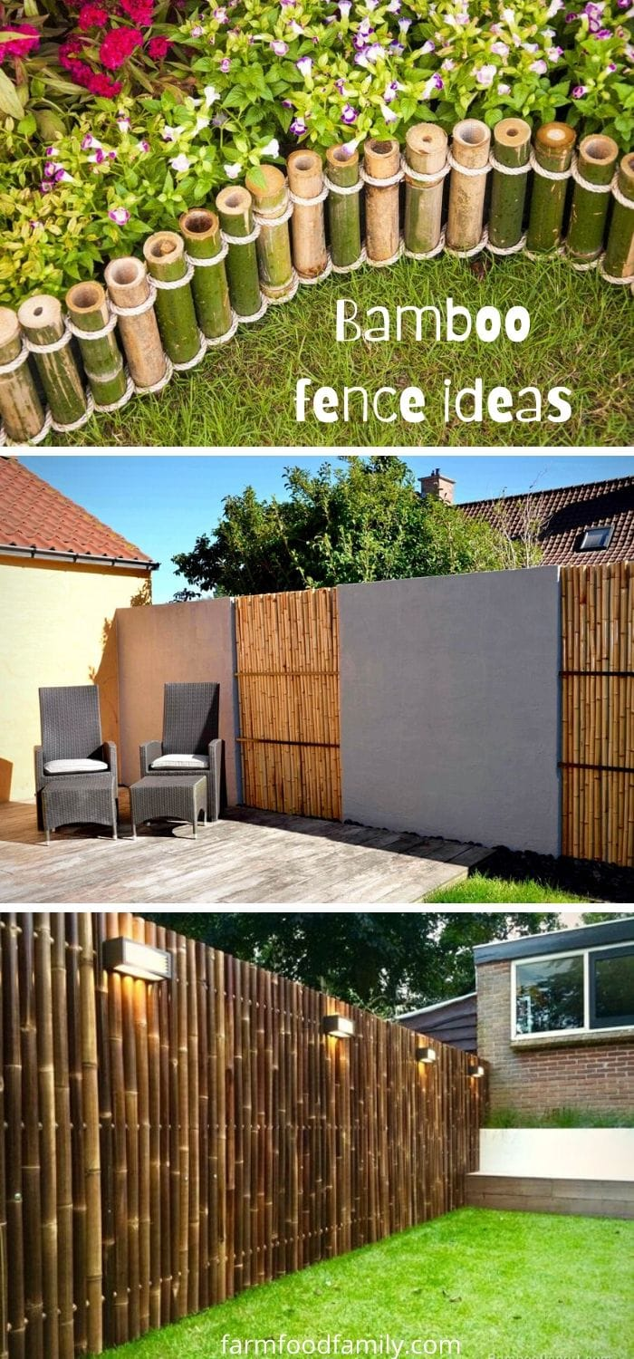 Best bamboo fence ideas for your yard