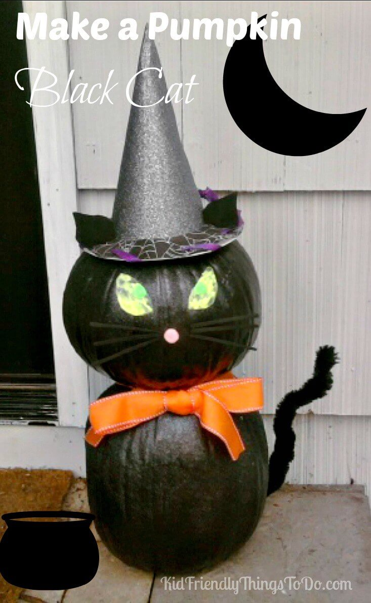 Create a Pumpkin Cat | Awesome DIY Halloween Party Decor | BHG Halloween