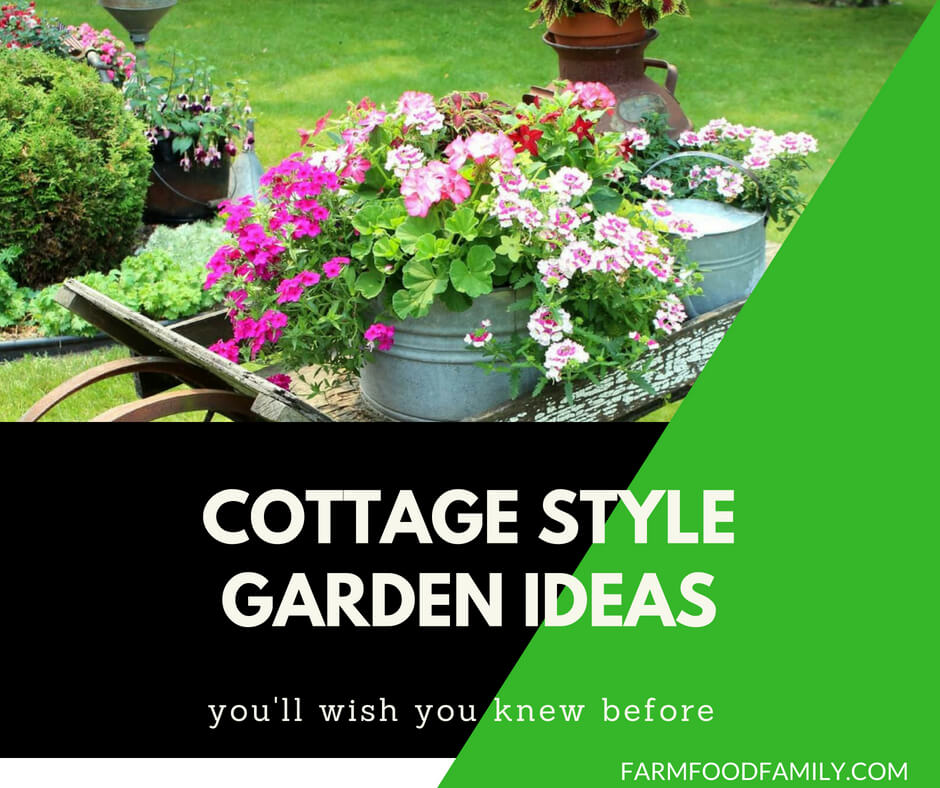 50 cottage style garden designs & plans ideas