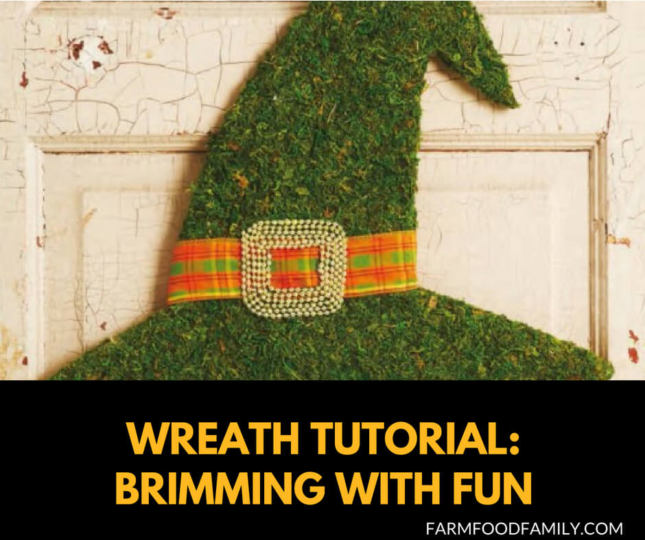 DIY Front Door Halloween Wreath Tutorial: Brimming With Fun