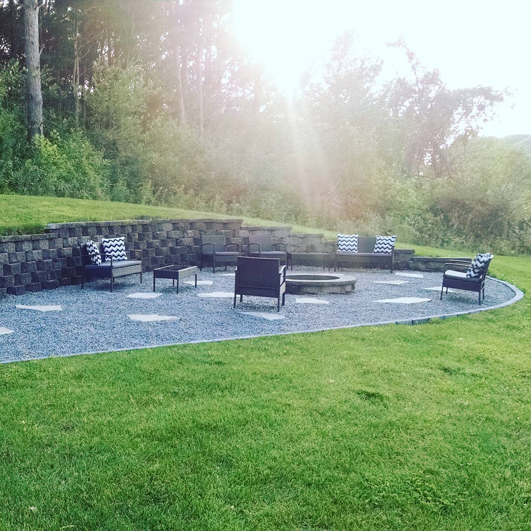 Paver Fire Pit   Awesome Firepit Area Ideas For Your Outdoor Activities