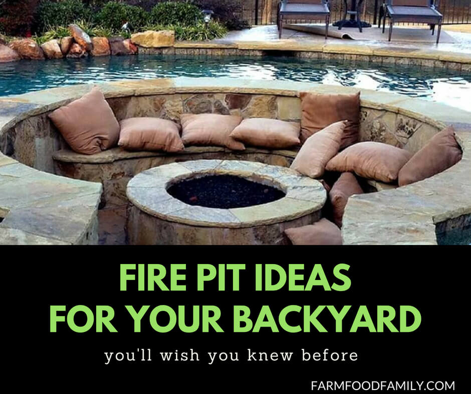 Awesome fire pit are ideas for backyard