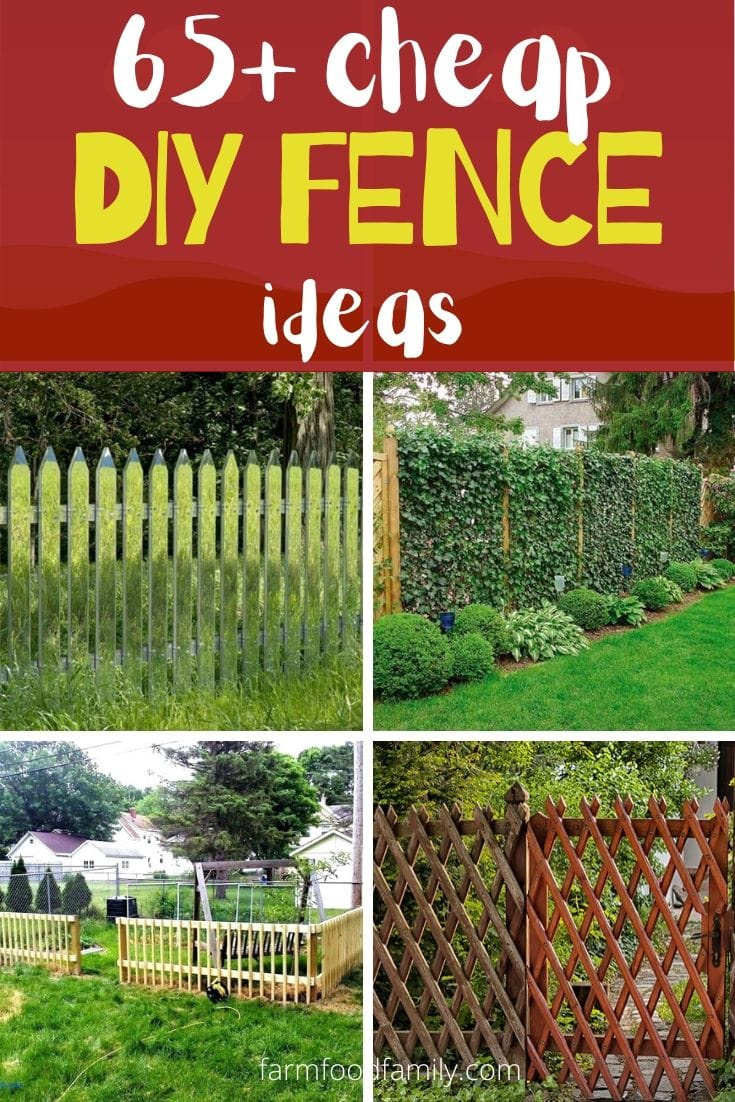 Awesome inexpensive and easy diy fence ideas and designs