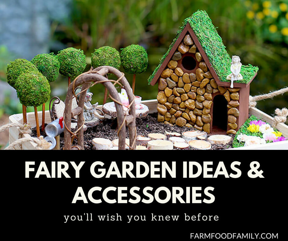 The 50 Best Diy Miniature Fairy Garden Ideas In 2017: 37+ Best Miniature DIY Fairy Garden Ideas & Accessories