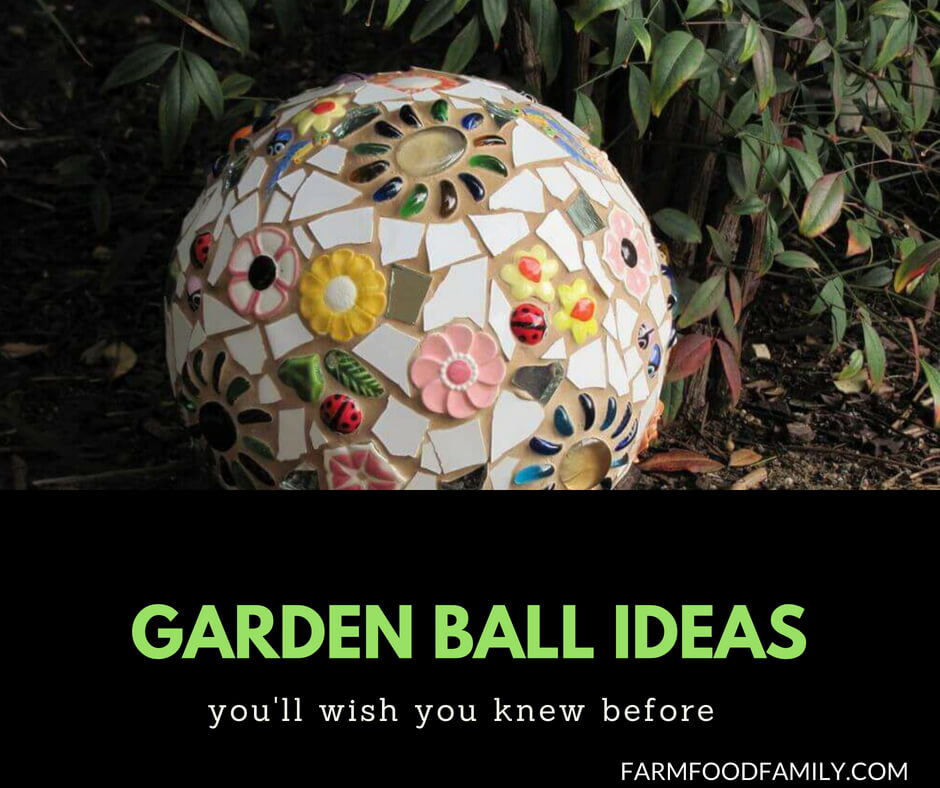 25+ DIY Garden Ball Ideas