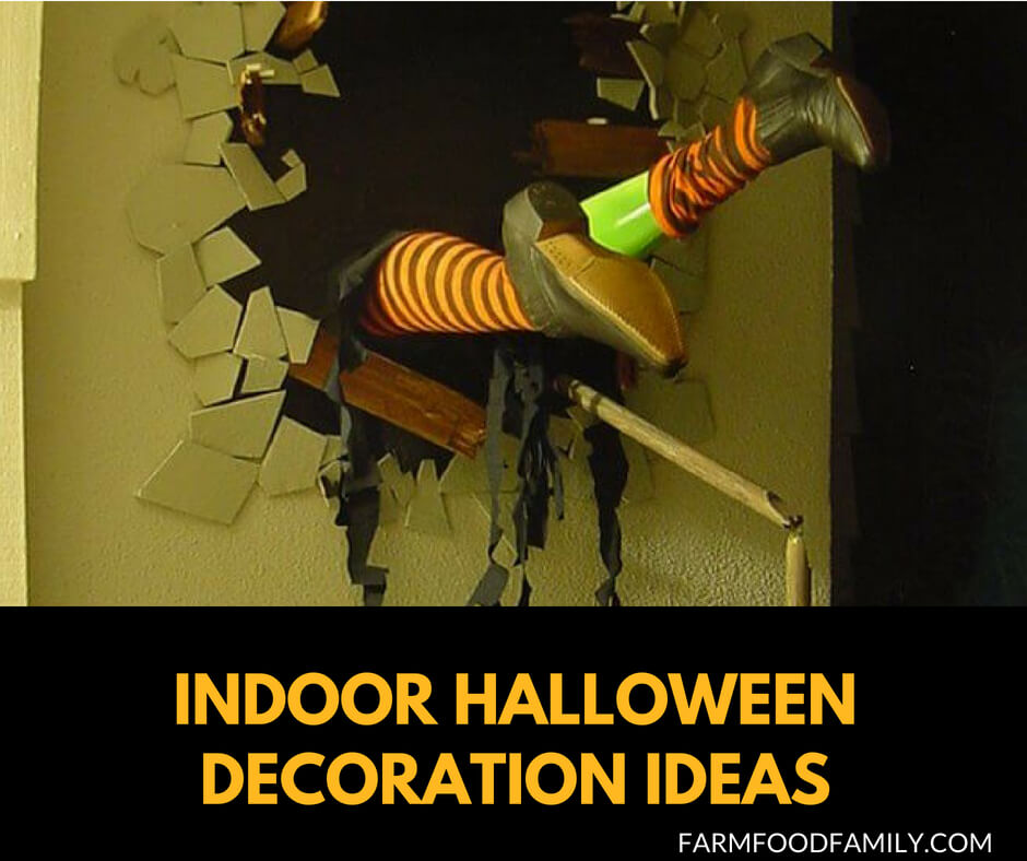51+ Spooky DIY Indoor Halloween Decoration Ideas For 2019