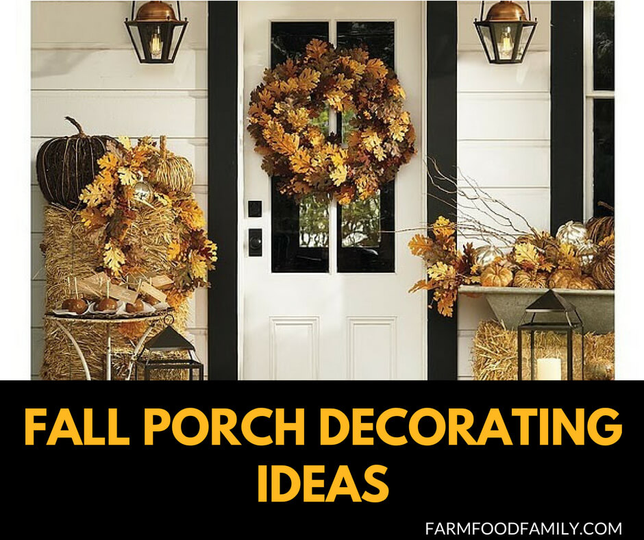25+ Best Fall Porch Decorating Designs & Ideas