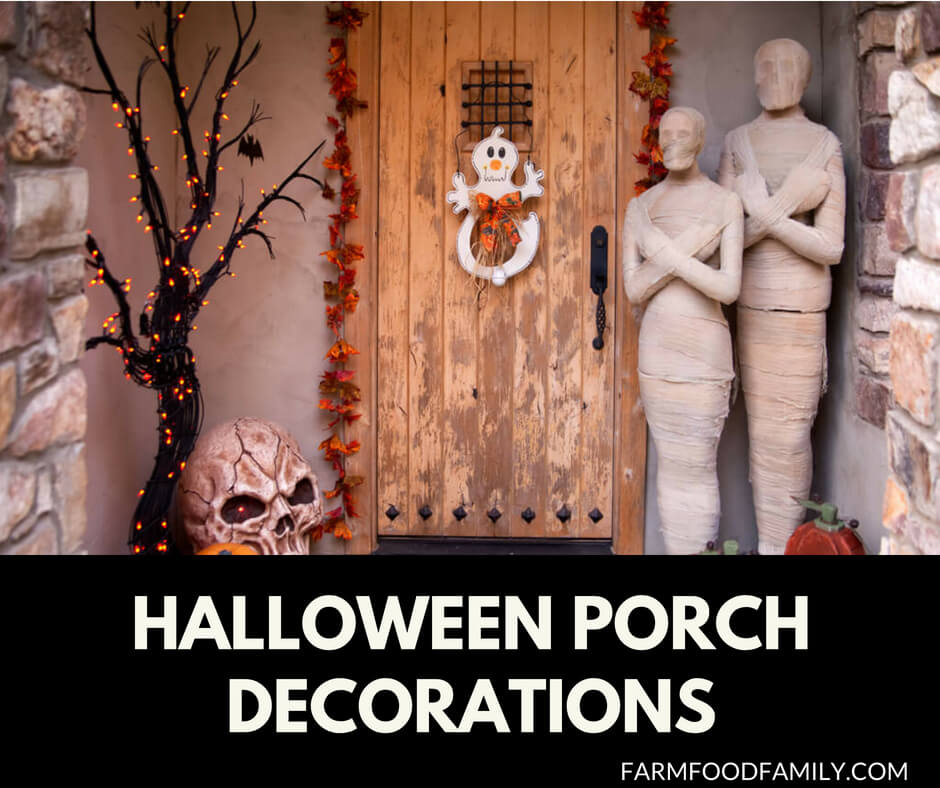 Halloween Decorations Home: 51+ Spooky DIY Halloween Front Porch Decorating Ideas This
