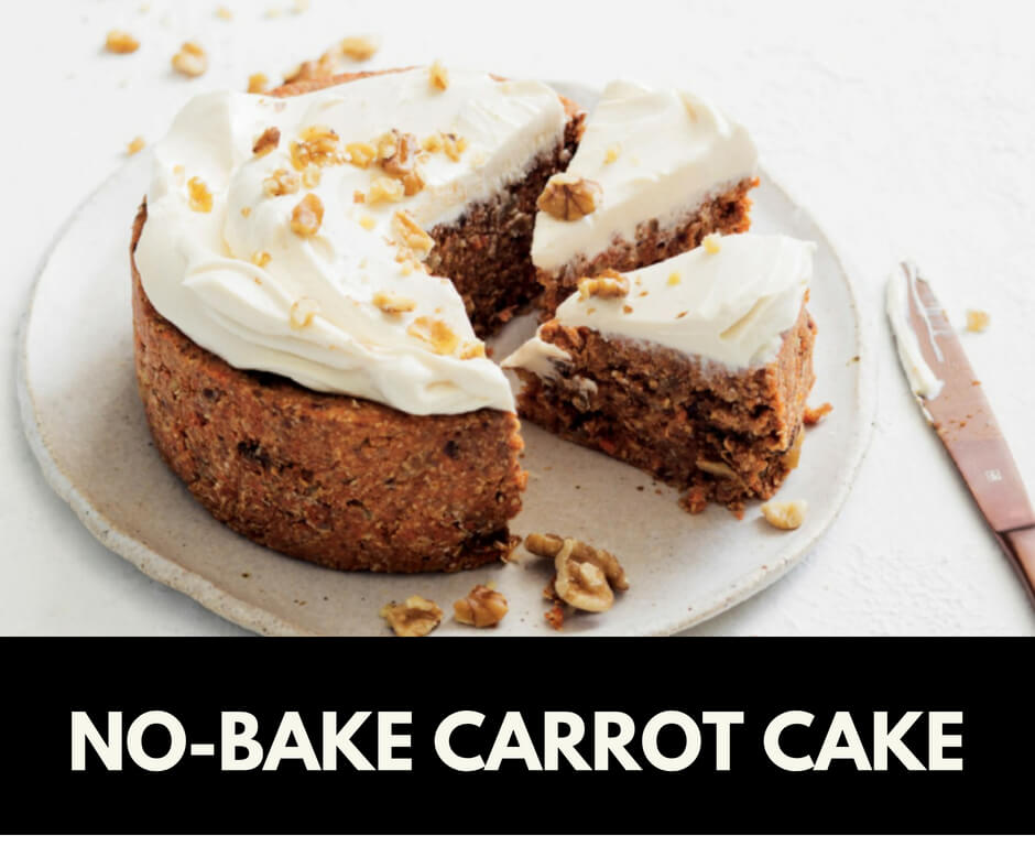 No-bake carrot cake recipes #nobake #recipe #farmfoodfamily