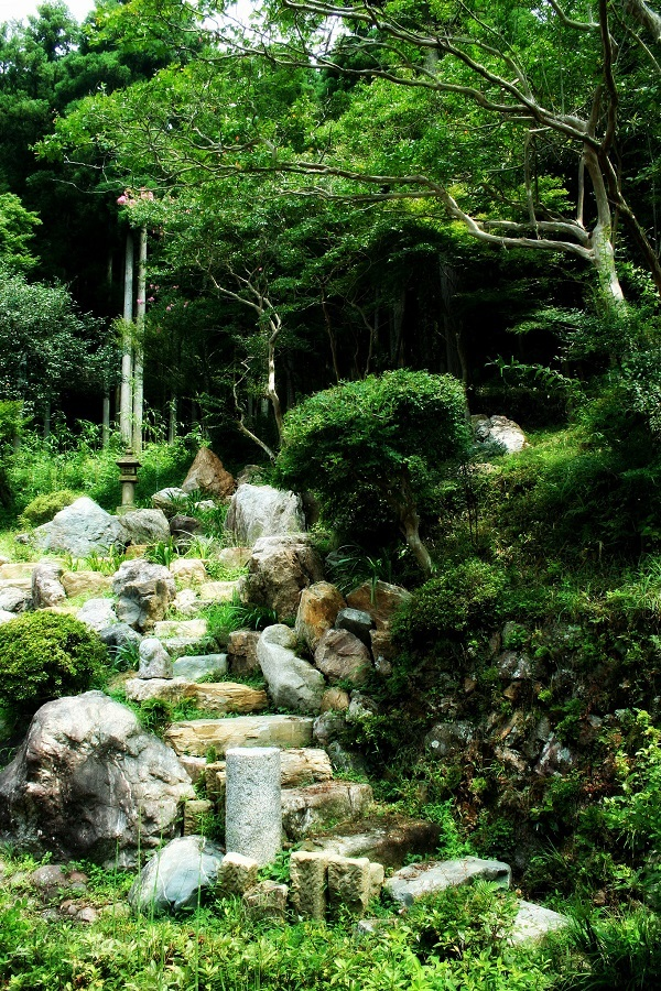 Stone Stair In Zen Garden | Zen Garden Designs & Ideas