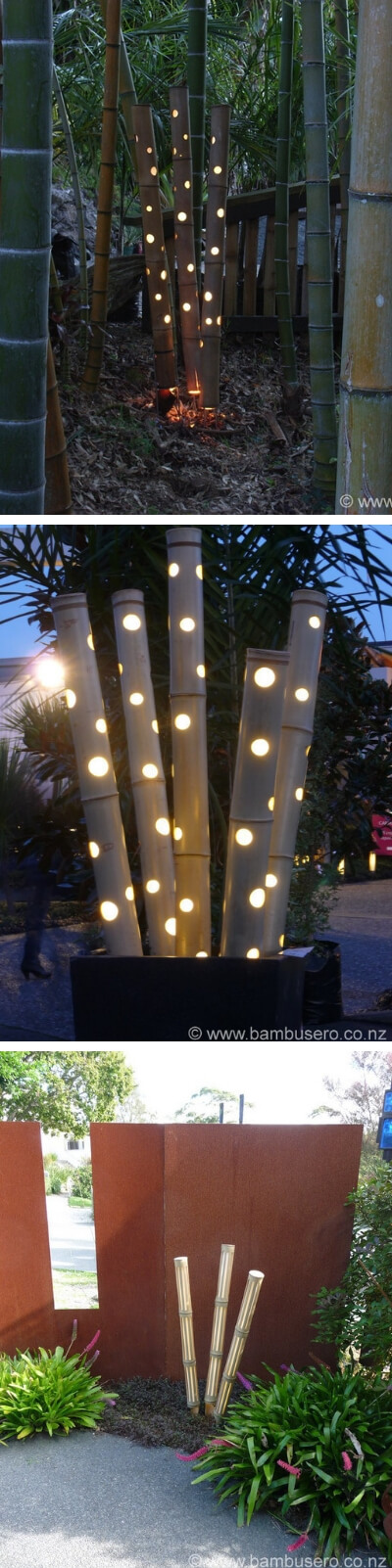 bamboo lights | Stunning Bamboo Craft Projects | FarmFoodFamily.com