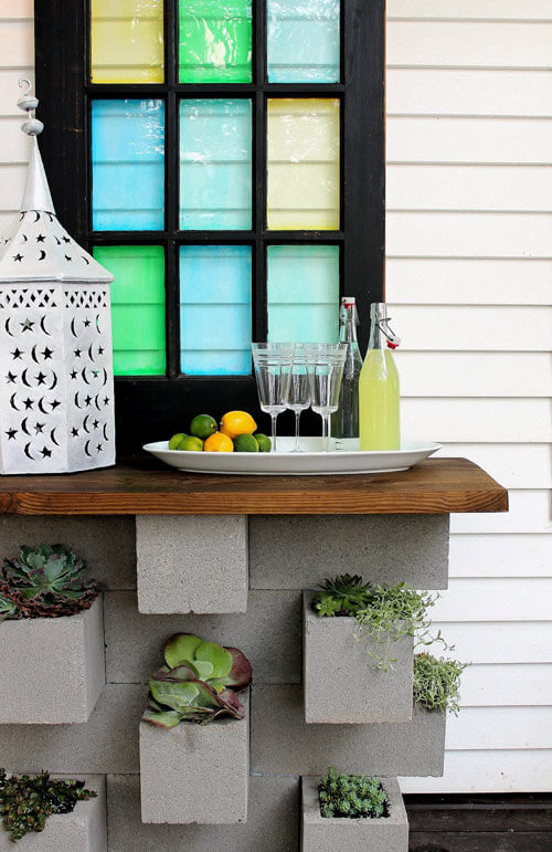 Cinder Block Planter | Low-Budget DIY Garden Pots and Containers