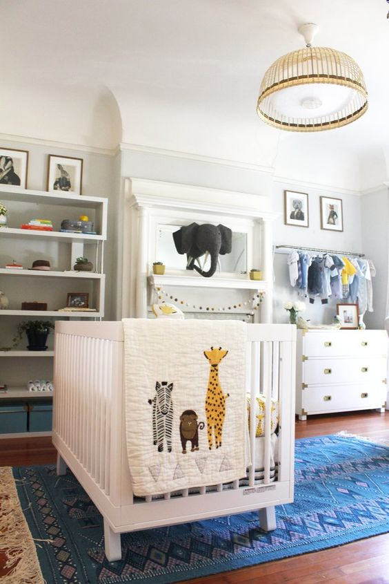 Scavenge for One-of-a-Kind Pieces | Cool Zoo Themed Bedroom Ideas For Kids or Nursery