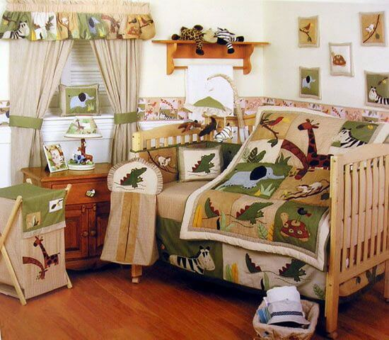 How to decorate a jungle theme bedroom | Jungle theme bedroom ideas