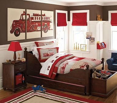 Fireman Theme Bedroom Ideas   How to Decorate a Fireman Theme Bedroom: Be a Hero by Designing a Firefighter Theme Nursery or Bedroom