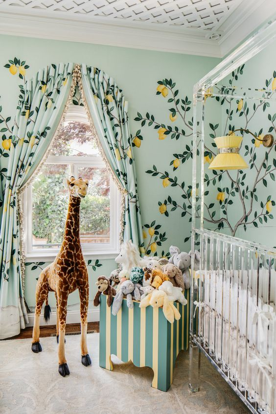 Zebra next to me | Cool Zoo Themed Bedroom Ideas For Kids or Nursery