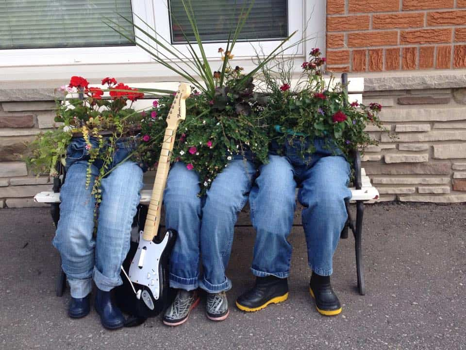 Denim Jeans Planters | Low-Budget DIY Garden Pots and Containers