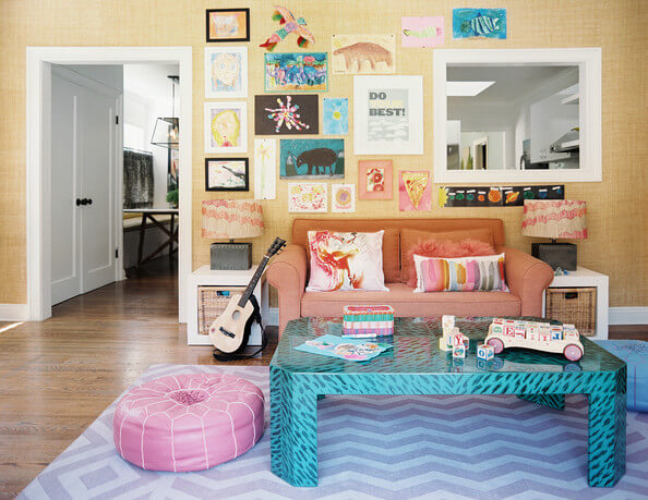 Bohemian Eclectic Kids' Room | Bohemian Chic Interior Design Ideas | FarmFoodFamily.com