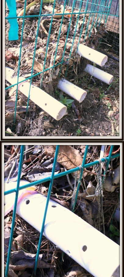 PVC Pipe | Easy Compost Bins You Can DIY On Very Low Budget - FarmFoodFamily.com