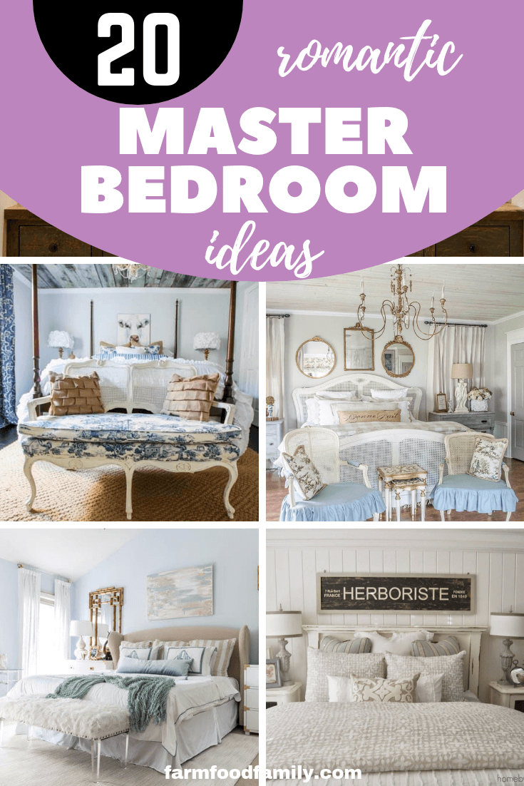 20 Best Master Bedroom Design Ideas for small or large space