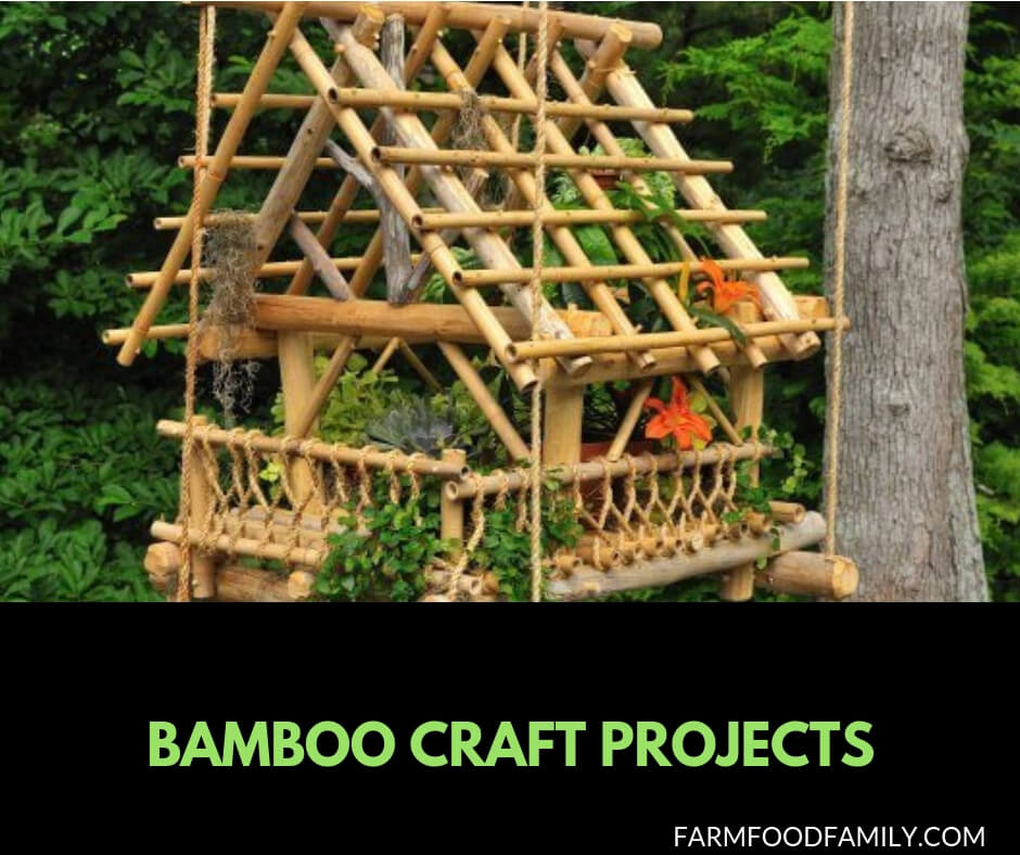 18+ DIY Bamboo Craft Projects