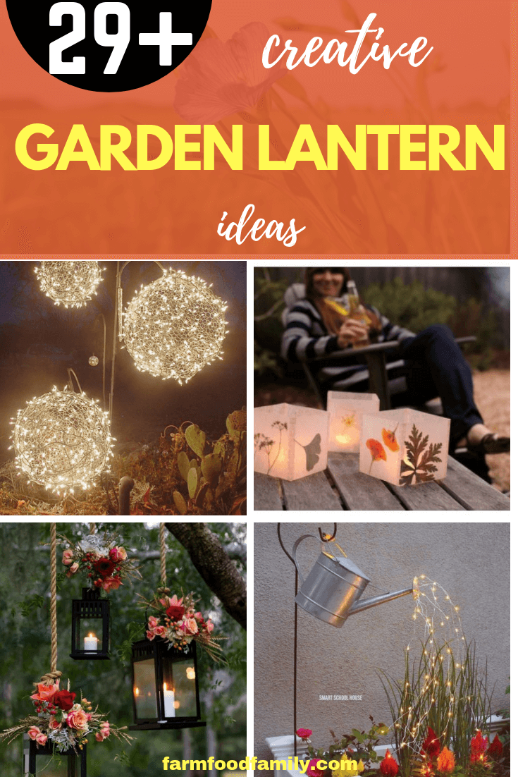 29+ Creative DIY Garden Lantern Ideas
