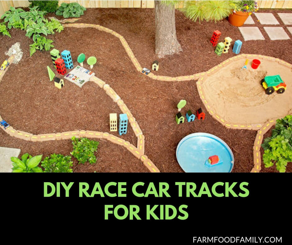 DIY Race Car Tracks for Kids
