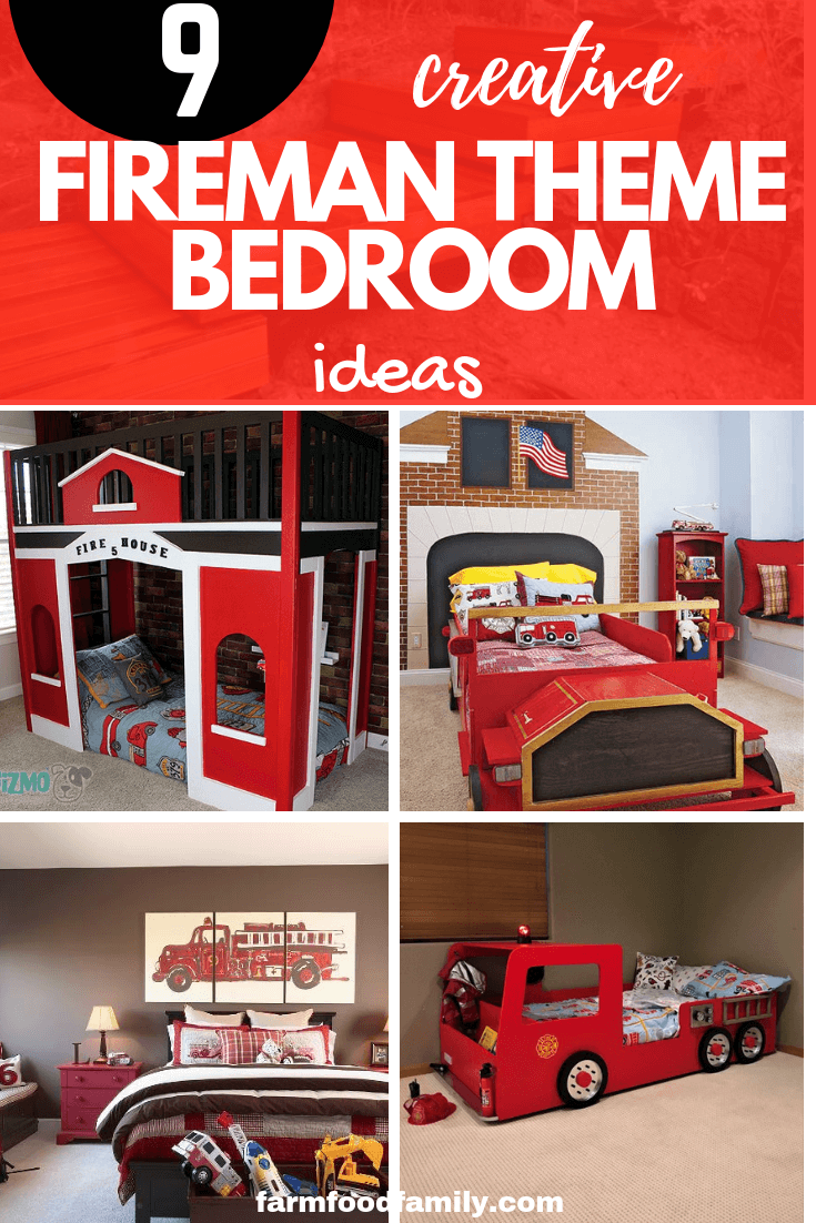 How to Decorate a Fireman Theme Bedroom: Be a Hero by Designing a Firefighter Theme Nursery or Bedroom