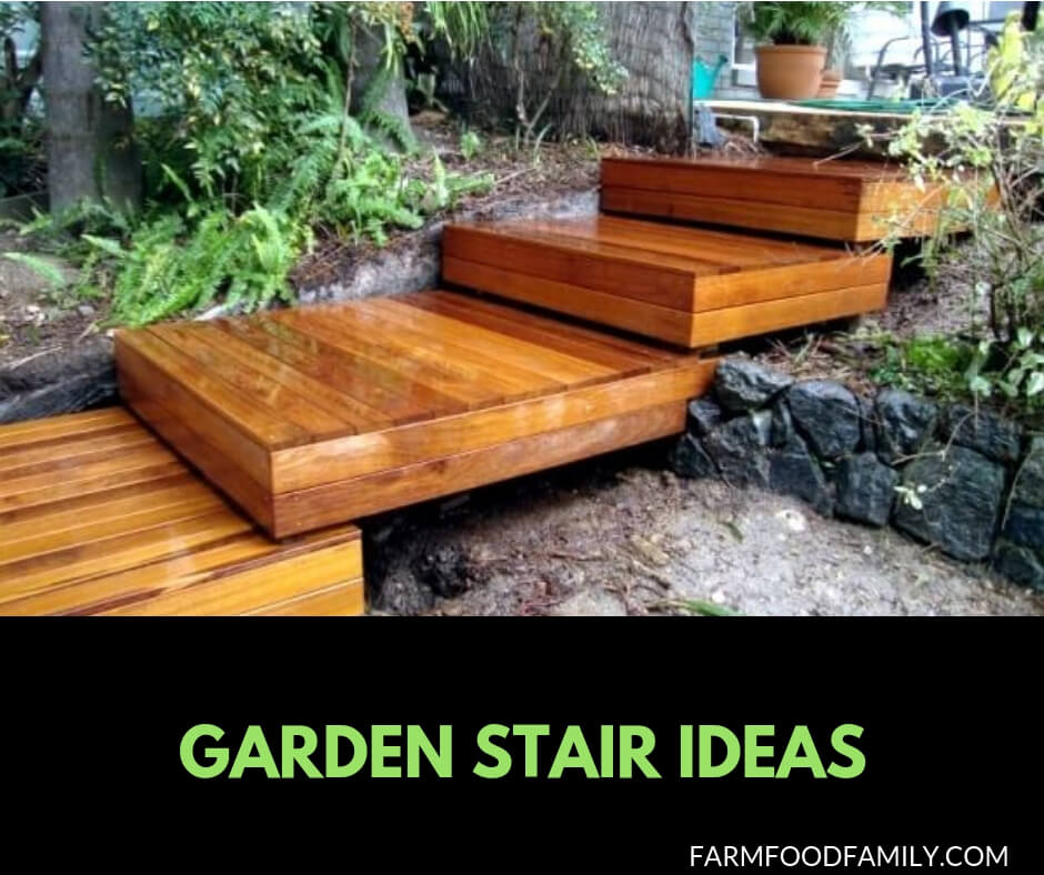 Creative Garden Stair and step ideas