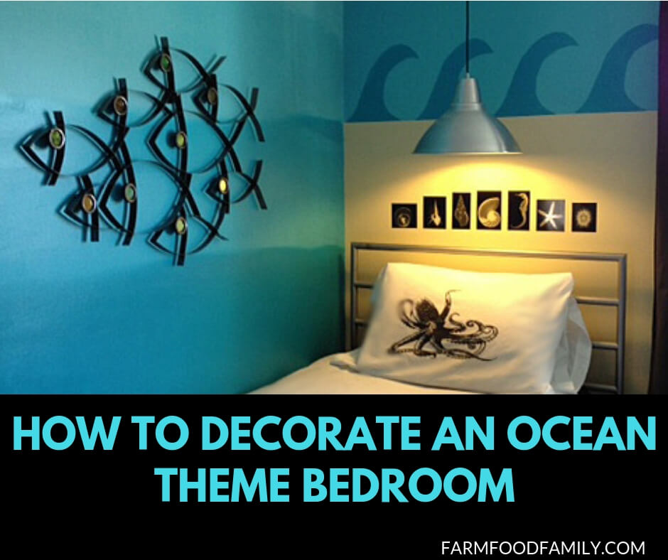 Beach theme bedroom decoration ideas