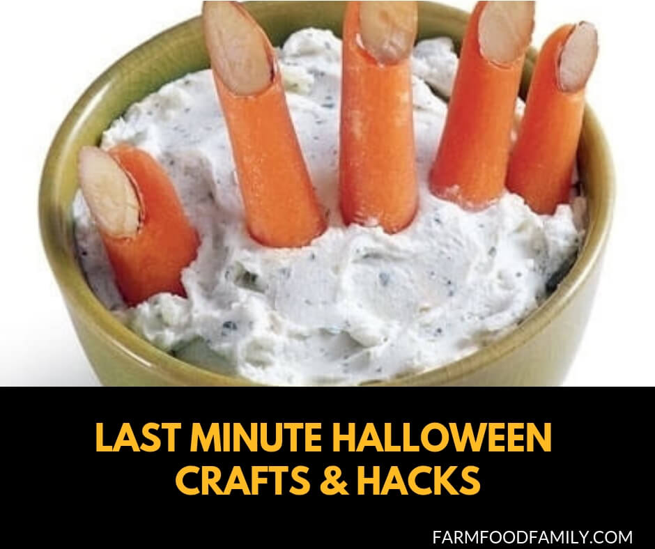 21+ Last minute Halloween crafts and hacks