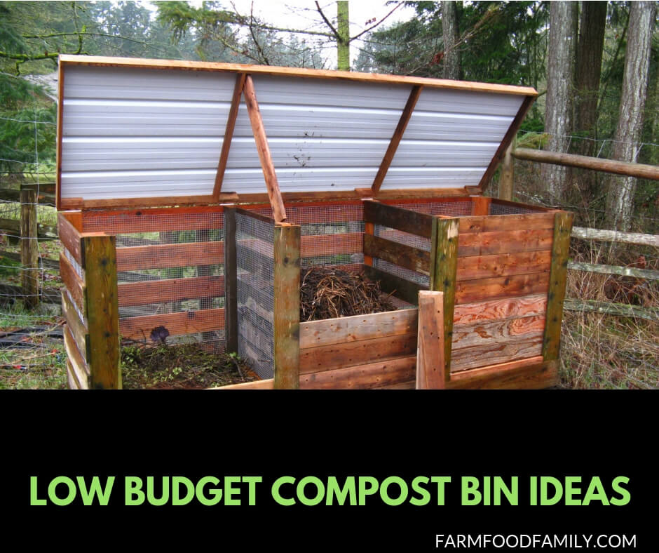Affordable compost bin ideas you can make your own