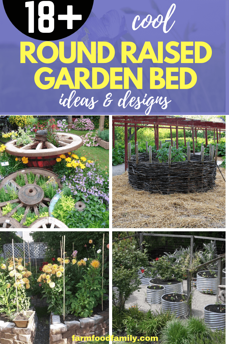 18 Beautiful Round Garden Bed Ideas