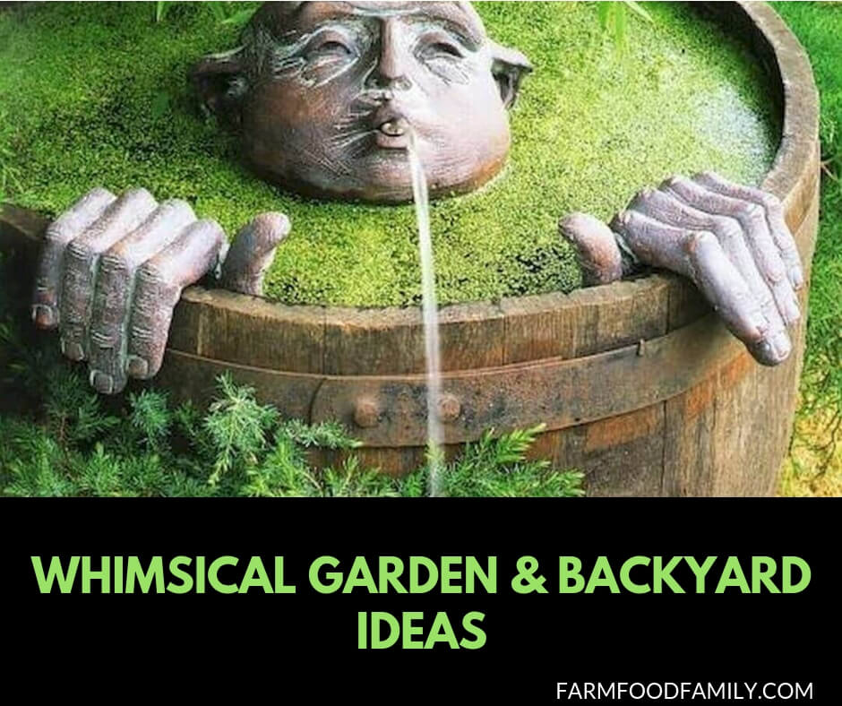 Whimsical garden & backyard ideas