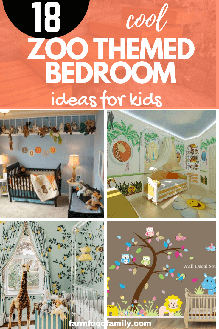 Create a Zoo Bedroom Theme in a Baby Nursery: A Home Decor Weekend DIY Project for a Beautiful Baby Room