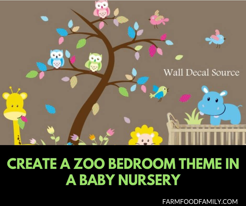 Create A Zoo Bedroom Theme In A Baby Nursery 18 Ideas