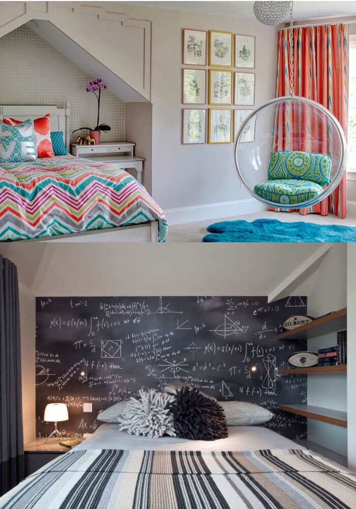 Fun Teen Bedroom Ideas   Decorating Teen Bedrooms: Transforming a Child's Room with Teenage Décor - FarmFoodFamily.com
