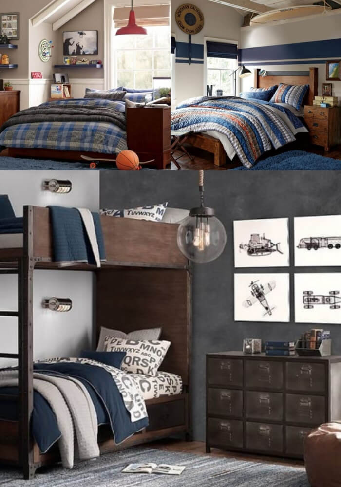 Modern and Stylish Teen Boys Rooms   Decorating Teen Bedrooms: Transforming a Child's Room with Teenage Décor - FarmFoodFamily.com