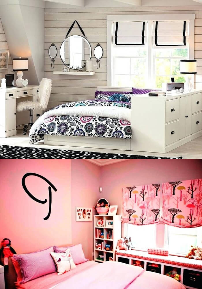 Simple and cool rooms   Decorating Teen Bedrooms: Transforming a Child's Room with Teenage Décor - FarmFoodFamily.com
