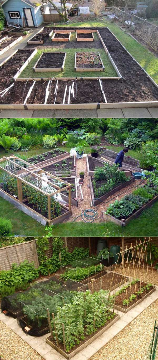 Small Vegetable Raised Bed | How to Build a Raised Vegetable Garden Bed | 39+ Simple & Cheap Raised Vegetable Garden Bed Ideas - farmfoodfamily.com