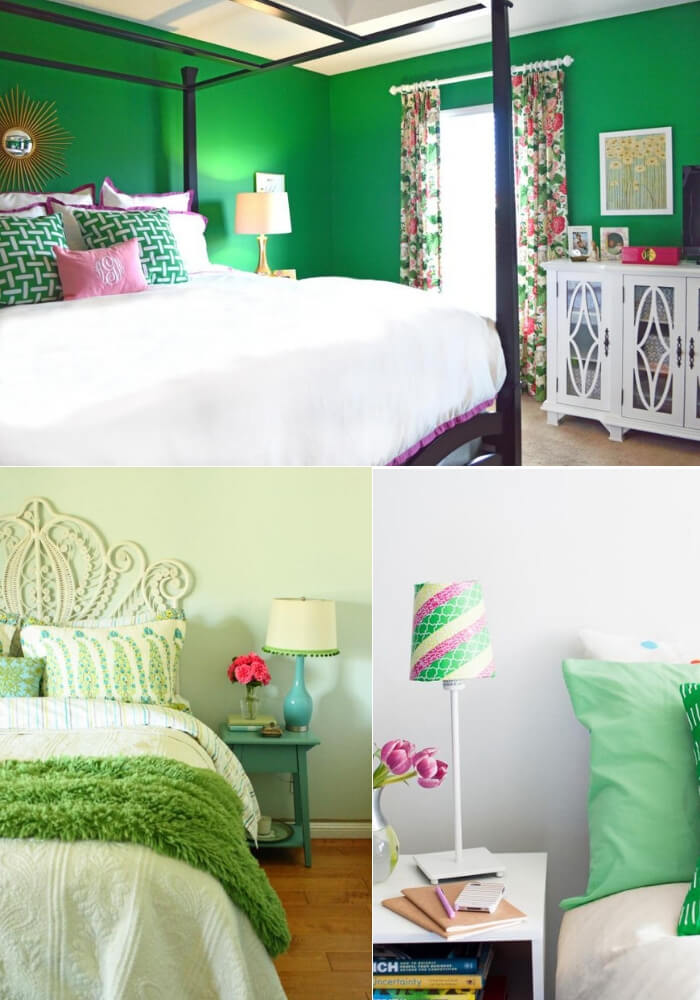 Green whit envy   Decorating Teen Bedrooms: Transforming a Child's Room with Teenage Décor - FarmFoodFamily.com