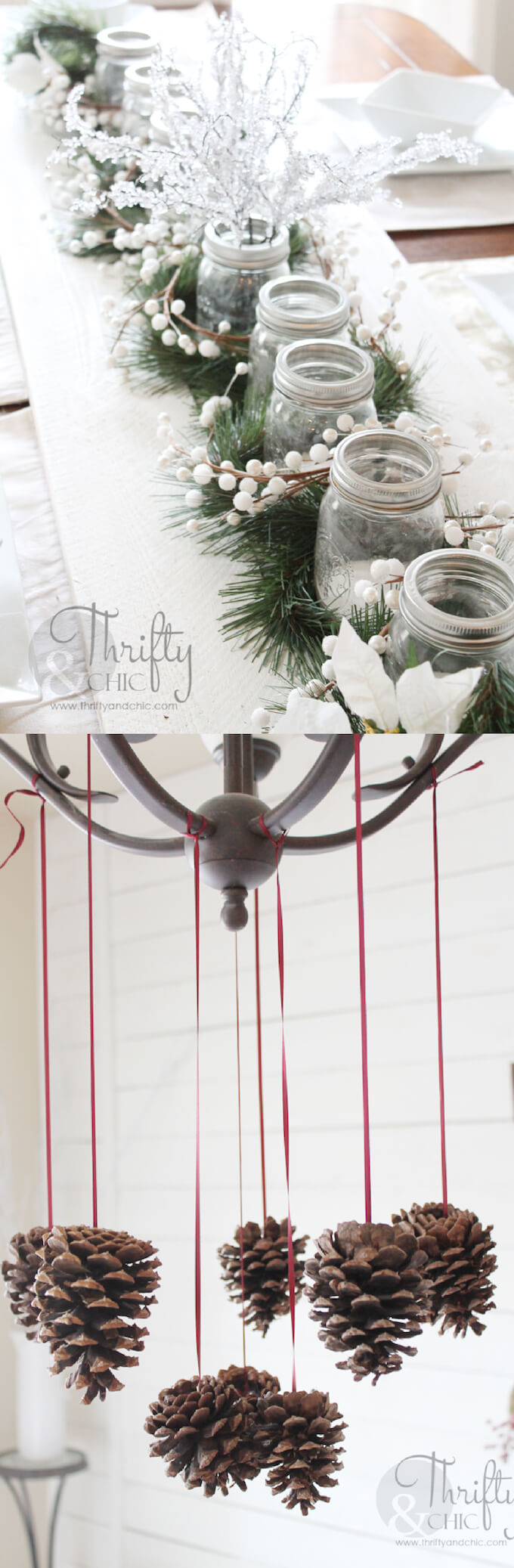 Thrifty & Chic | Best Elegant Christmas Centerpieces & Designs | Farmfoodfamily.com