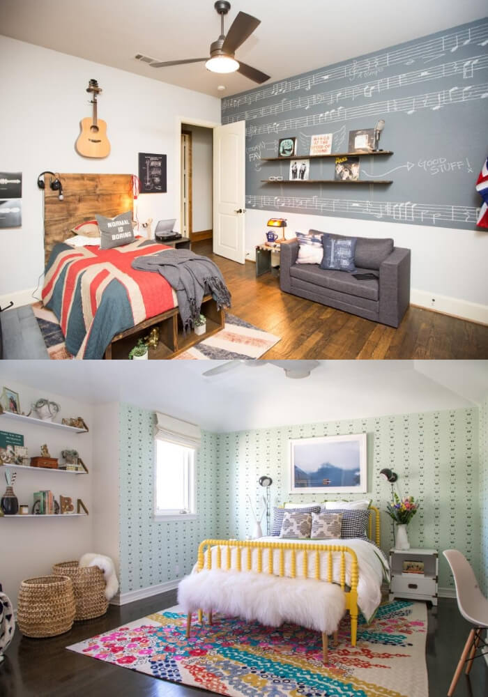 Stylish room   Decorating Teen Bedrooms: Transforming a Child's Room with Teenage Décor - FarmFoodFamily.com