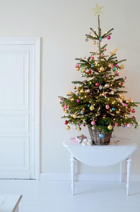Small Christmas Tree | Best Way to Decorate Christmas Trees on a Budget: Inexpensive or Free & Easy Holiday Ornaments & Decorations